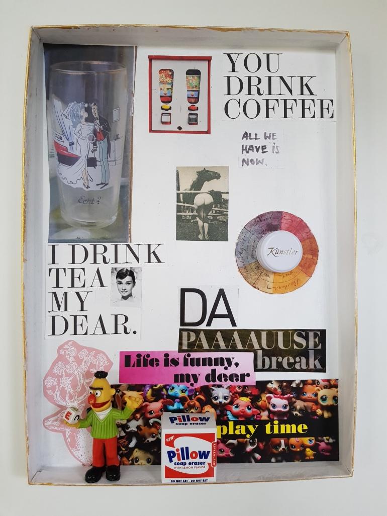 Object, Art, Asssemblageart, Collageart, Contemporary art, Teena Leitow, Kunst,