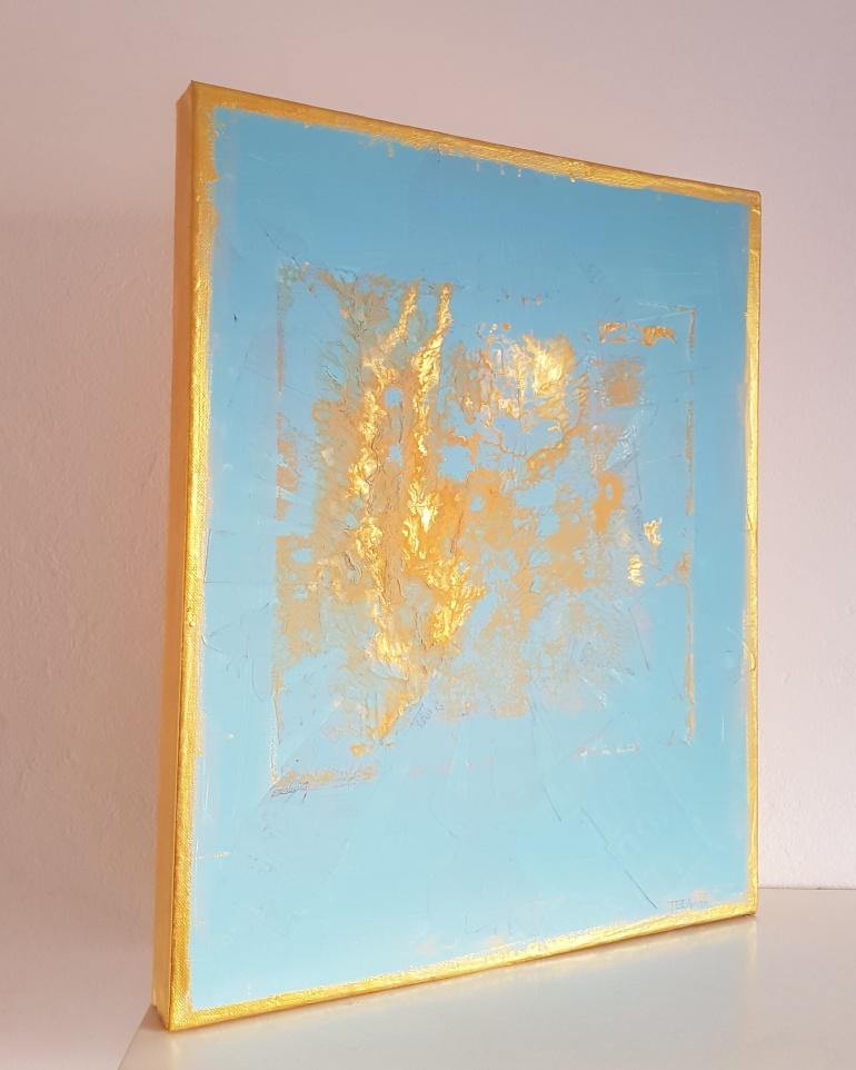 Kunst, Teena Leitow, Mixedmediaart, Das fünfte Element