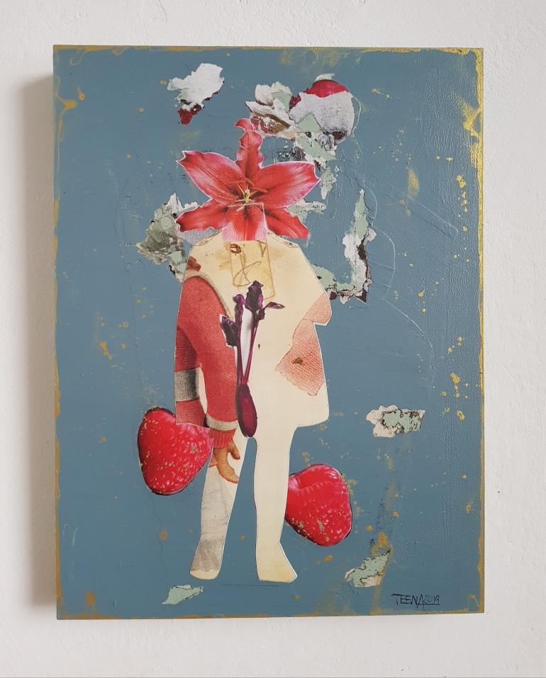 Teena Leitow, Kunst, Mixedmedia, Art, Ausstellung Bremen, Kunstmix, querbeet