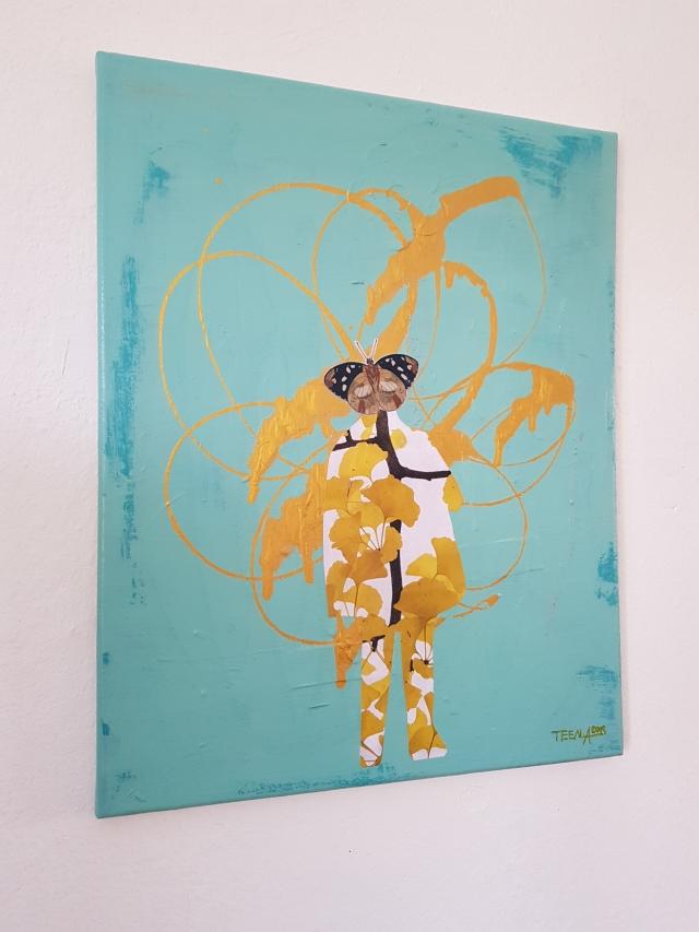 Die Wundersamen, Teena Leitow, Mixedmediaart, Kunst, affordable art, art for sale, Hamburg, Buchholz in der Nordheide, atelier acht, Kunst kaufen
