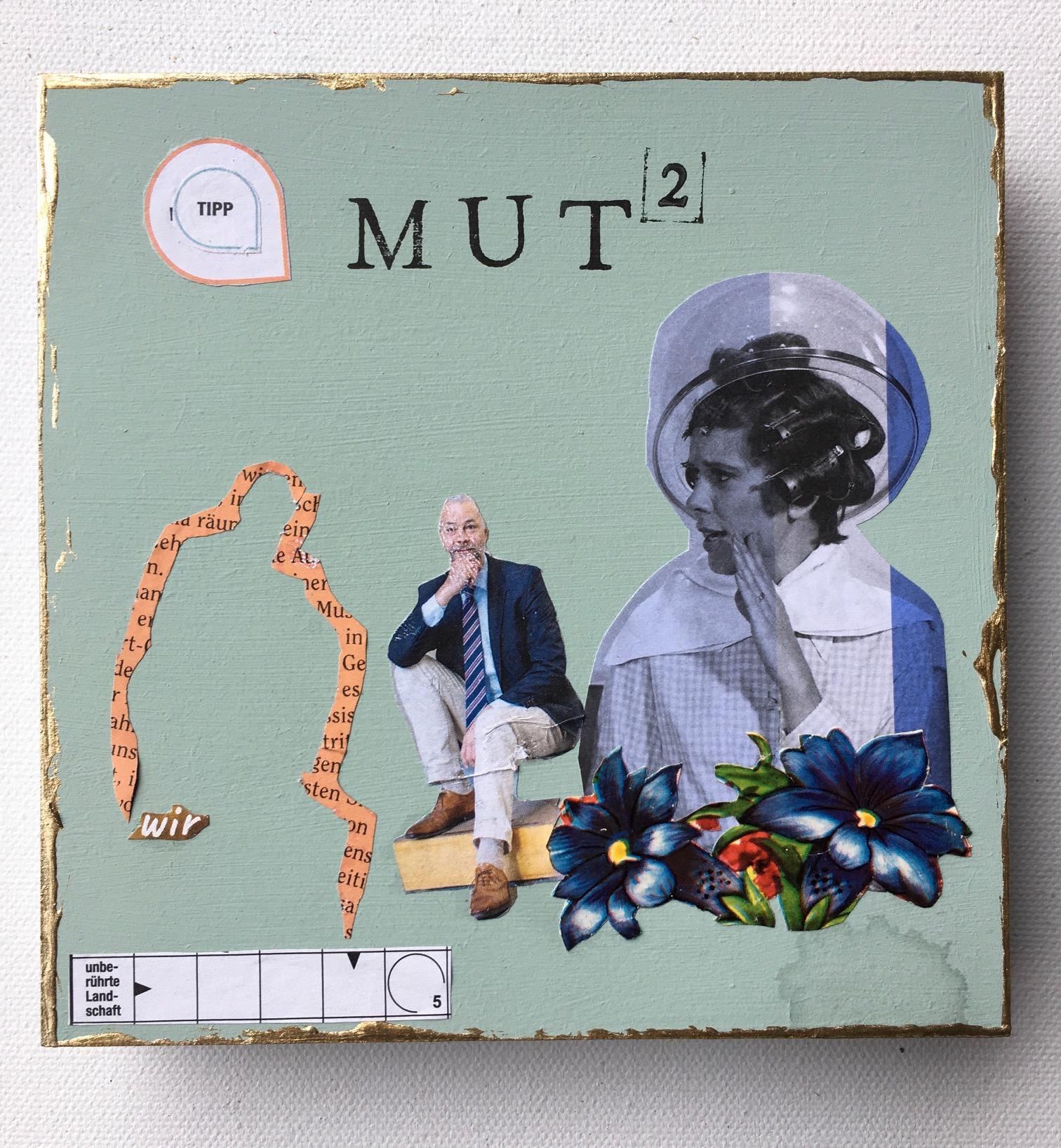 Teena Leitow, MutHoch2, Collaboration Art, CoronART, Kunstprojekt